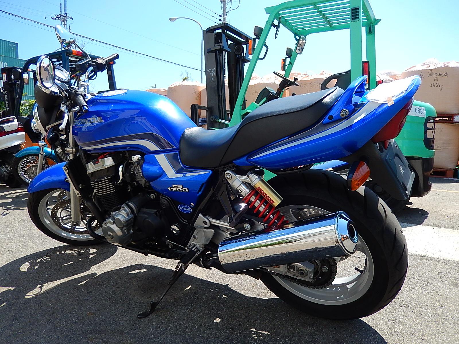 Honda cb 1300 разбор #4